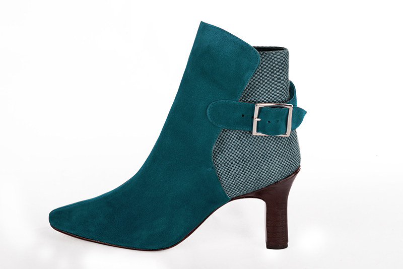 Chaussures et maroquinerie Florence KOOIJMAN - Boots Turquoise Femme
