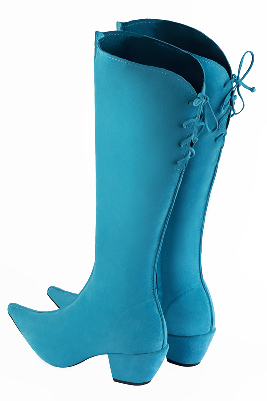 Chaussures et maroquinerie Florence KOOIJMAN - Bottes Turquoise