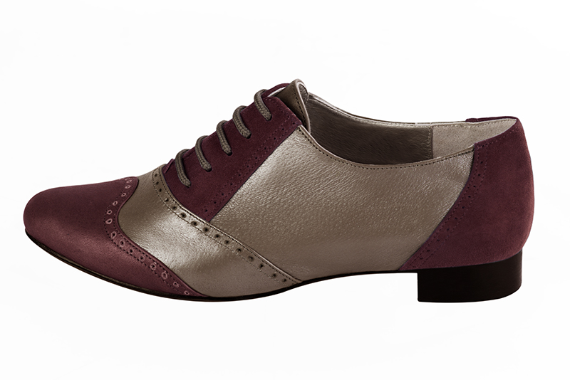 Escarpins personnalisables Florence KOOIJMAN - burgundy color derbys