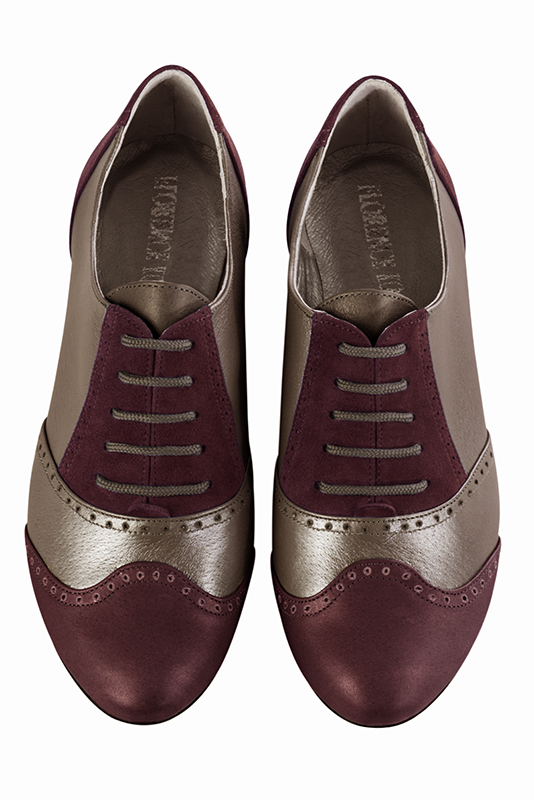 Escarpins tendance Florence KOOIJMAN - burgundy color derbys