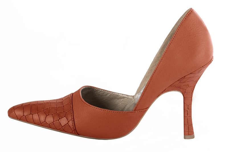 Escarpins personnalisables Florence KOOIJMAN - Escarpin haut Orange