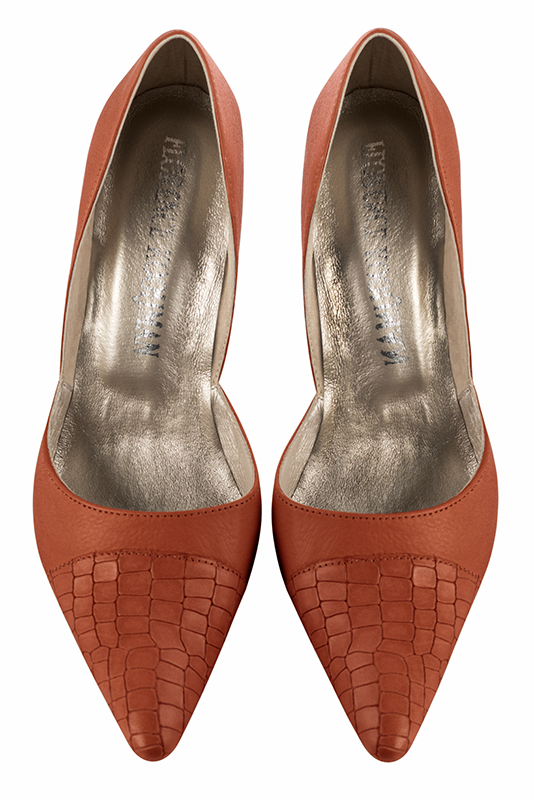 Escarpins tendance Florence KOOIJMAN - Escarpin haut Orange